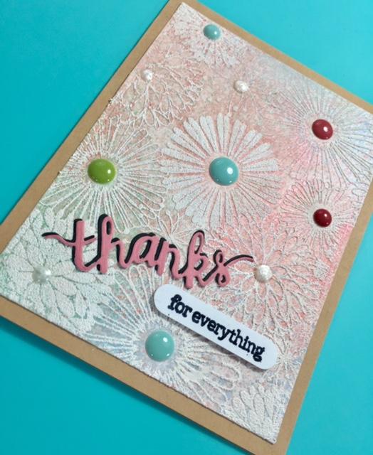 "Hero Arts ""Thanks"" Card"