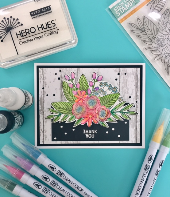 Simon Says Stamp Floral Bliss