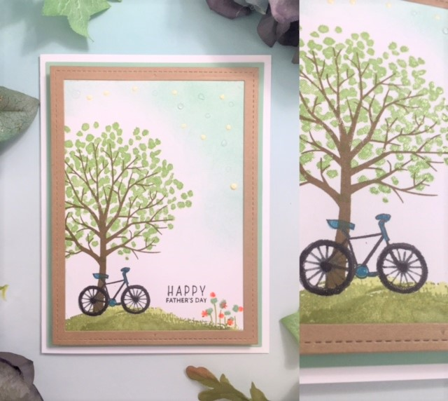 Sheltering Tree Father's Day Card