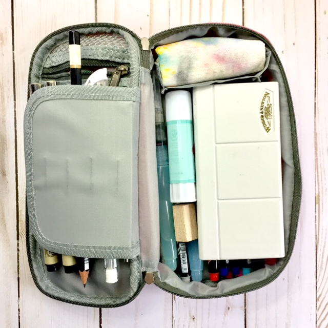 How I Set Up My Travel Art Journal Kit