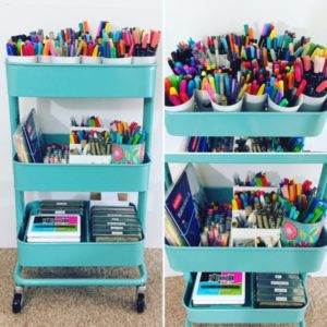 How I Set Up My Color Cart — The IKEA Raskog