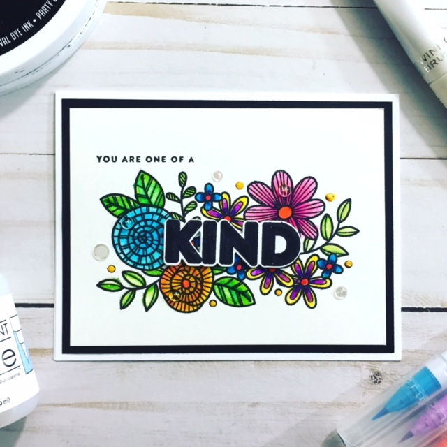 Simon Says Stamp Kind Flowers