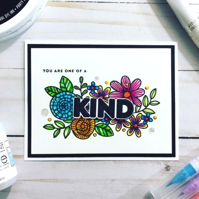 Simon Says Stamp Kind Flowers