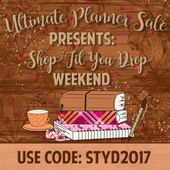 Cyber Monday Crafty & Planner Sales