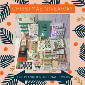 Planner & Journal Lovers Christmas Giveaway!