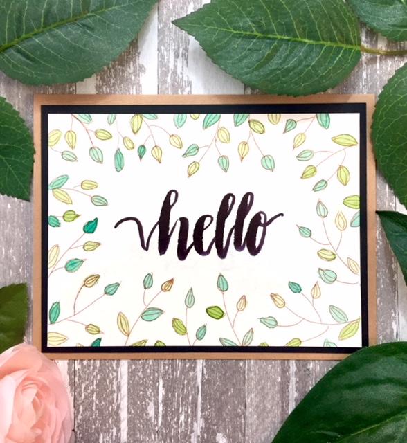 A Leafy Hello