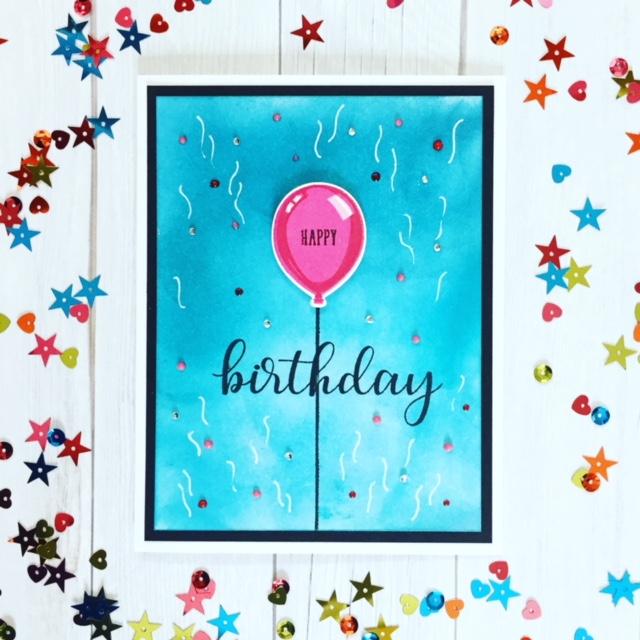 Sunny Studio's 3-D Birthday Balloon